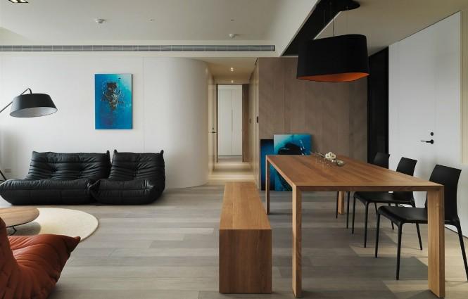 Apartament in stil taiwanez